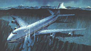 """L'affiche du film """"Airport 77"""" (""""Les naufragés du 747"""", en version française), de Jerry Jameson. (UNIVERSAL PICTURES)"""