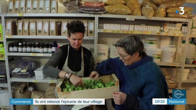 Commerce : ils ont relancé l'épicerie du village