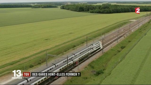 TGV : des gares vont-elles fermer ?