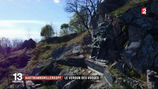 Hartmannswillerkopf : le Verdun des Vosges