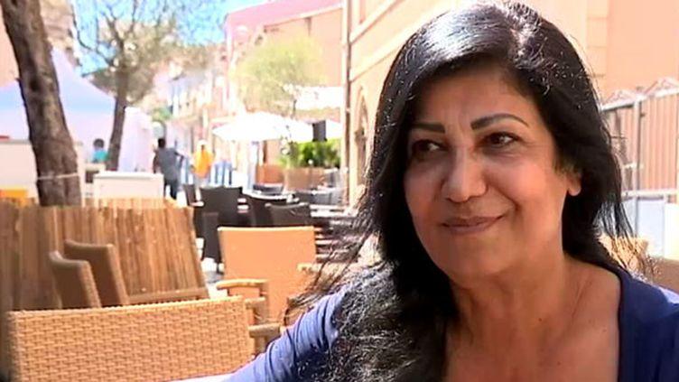 Hala Mohammad, poétesse syrienne en exil, au festival Voix vives de Sète  (France Télévisions)