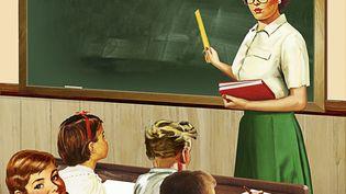 Ecole élémentaire vintage (SYD BRAK / IKON IMAGES / GETTY IMAGES)