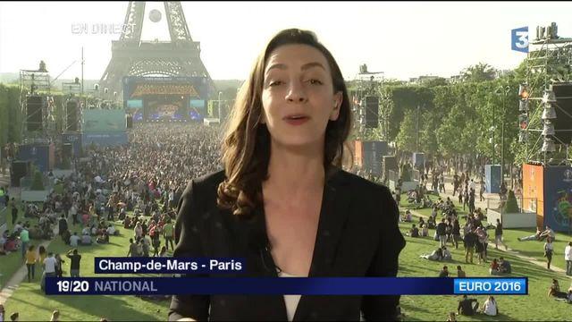 Euro 2016 : les fans se réunissent sur le Champ-de-Mars