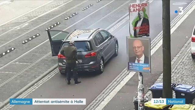 Attentat de Halle : l'assaillant présenté comme un néonazi