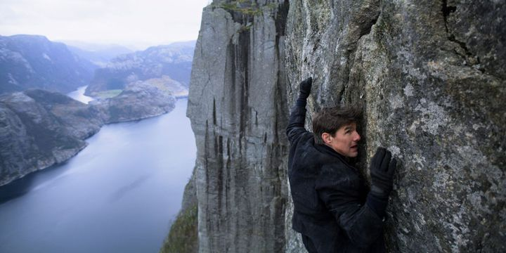"""Tom Cruise dans """"Mission Impossible - Fallout""""  (Paramount Pictures)"""