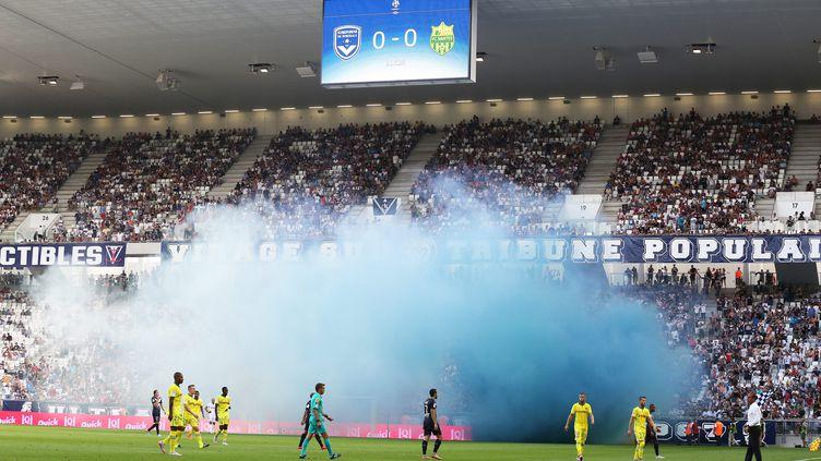 Le nouveau stade de Bordeaux  (SALINIER QUENTIN / MAXPPP)