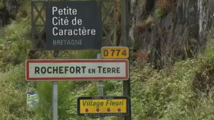 """Capture d'écran sujet """"Rochefort-en-Terre"""" (FRANCE 3)"""