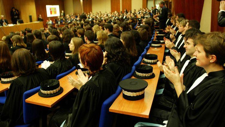 (Une rentrée solennelle à l'Ecole Nationale de la Magistrature à Bordeaux © Maxppp)
