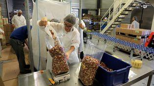 Une PME spécialisée dans les produits bio à Carpentras (Vaucluse). Photo d'illustration. (HIELY CYRIL / MAXPPP)
