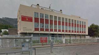 Le lycée Camille-Jullian, dans le 11e arrondissement de Marseille (Bouches-du-Rhône). (GOOGLE STREET VIEW)