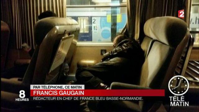 Tempête : des passagers ont passé la nuit en gare d'Évreux