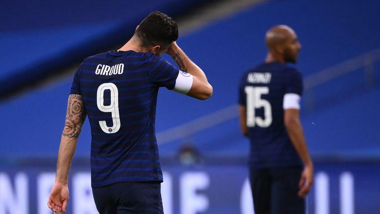 Olivier Giroud. (FRANCK FIFE / AFP)
