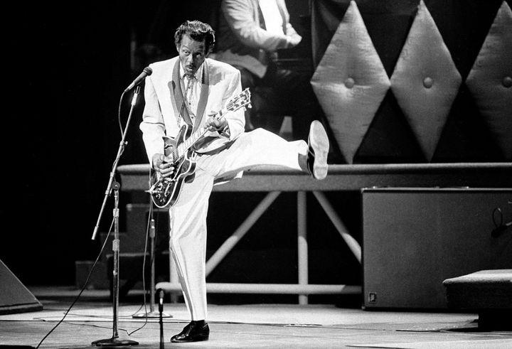 Chuck Berry en 1986  (James A. Finley/AP/SIPA)