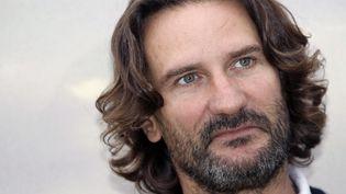 Frédéric Beigbeder, le 1er septembre 2013 à Deauville (Calvados). (CHARLY TRIBALLEAU / AFP)