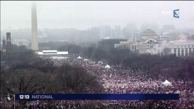 Women's March : deux millions de manifestants défilent contre Donald Trump