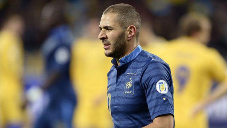 L'attaquant français Karim Benzema