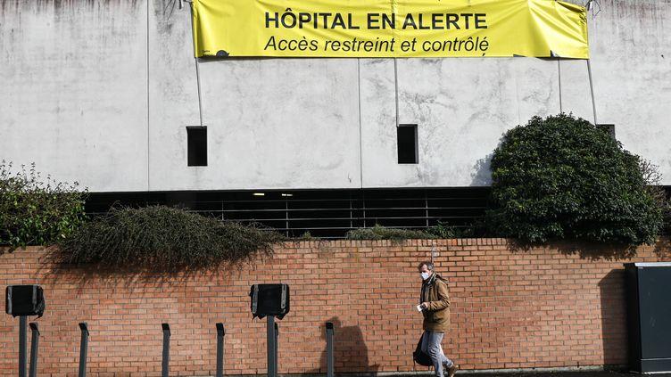 L'hôpital de Dunkerque, le 17 février (DENIS CHARLET / AFP)