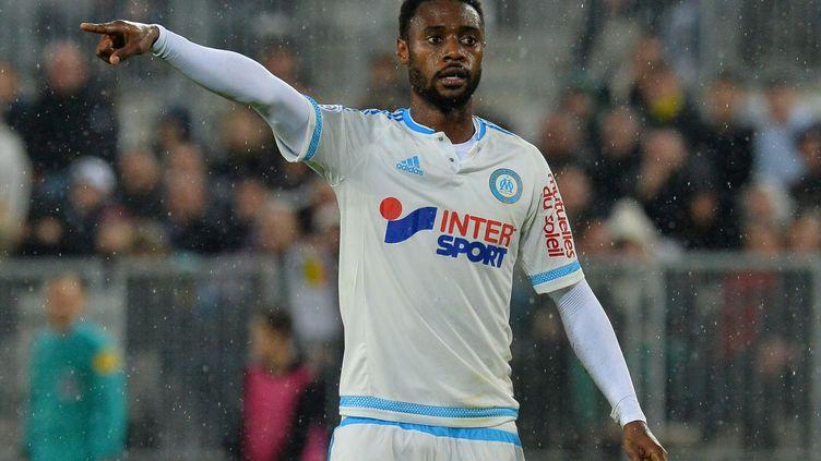 Le défenseur central Nicolas Nkoulou (NICOLAS TUCAT / AFP)