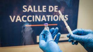 Un centre de vaccination (illustration 16 jenvier 2021). (IP3 PRESS/MAXPPP)