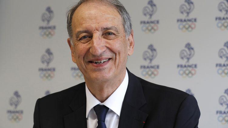 Denis Masseglia, le président du Comité national olympique et sportif français, le 11 mai 2017 à Paris. (FRANCOIS GUILLOT / AFP)