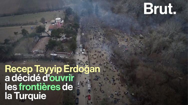 VIDEO. Pourquoi la Turquie a-t-elle décidé d'ouvrir ses frontières vers l'Europe ? (BRUT)