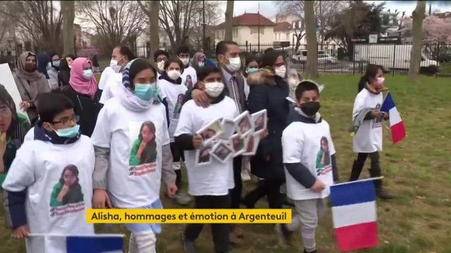 Argenteuil : un dernier hommage émouvant pour Alisha