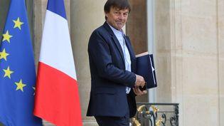Nicolas Hulot, à Paris, le 2 novembre 2017. (LUDOVIC MARIN / AFP)