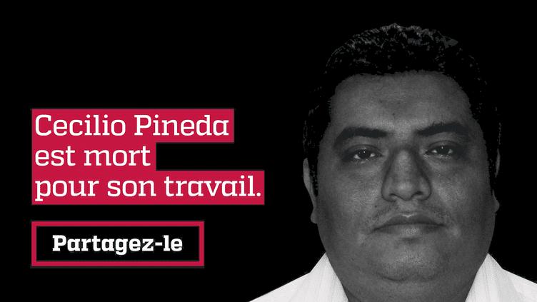 Le journaliste mexicain Cecilio Pineda a été tué deux heures après la publication d'une vidéo sur son compte Facebook, dans laquelle il dénonçait les amitiés politiques troubles d'un chef de gang. (FORBIDDEN STORIES)