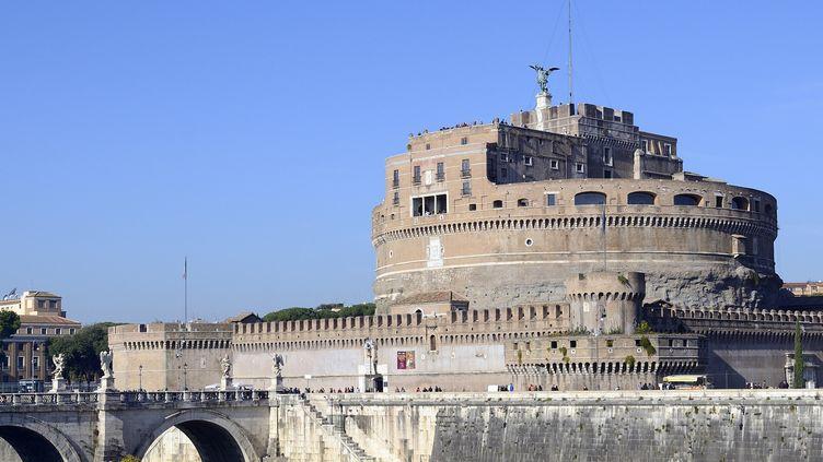 "Le Château Saint-Ange, à Rome, qui abrite la ""la Cagliostra"", la prison de luxe où fut enfermé Joseph Balsamo, dit comte de Cagliostro.  (CHICUREL Arnaud / hemis.fr)"