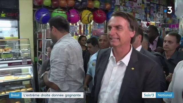 Élection présidentielle au Brésil : l'extrême droite donnée gagnante