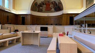 La salle du tribunal de Tours qui accueille la cour d'assises d'Indre-et-Loire (BORIS COMPAIN / FRANCE-BLEU TOURAINE)
