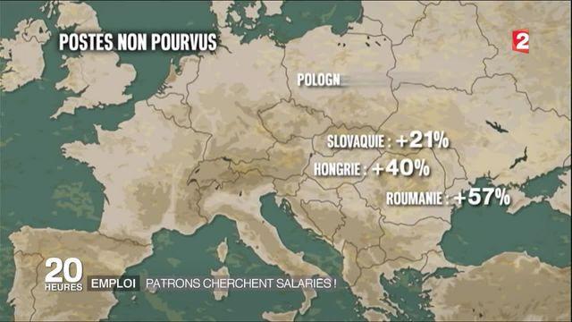 Emploi : l'Europe de l'Est connait une pénurie de main-d'œuvre