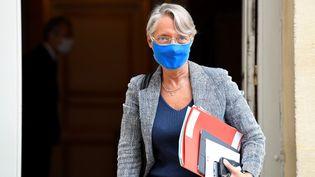 La ministre du Travail Elisabeth Borne à Matignon (Paris), le 29 septembre 2020. (BERTRAND GUAY / AFP)