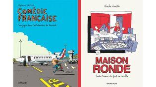 DE L'ANTICHAMBRE DU POUVOIR AUX COULOIRS DE RADIO FRANCE (MATHIEU SAPIN, DARGAUD / CHARLIE ZANELLO, DARGAUD)