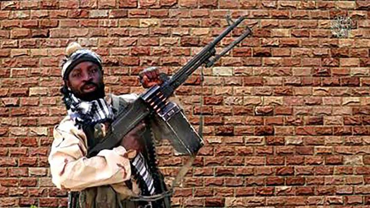Capture d'écran d'une vidéo de propagande du groupe islamiste Boko Haram montrant son chef Abubakar Shekau (HANDOUT / BOKO HARAM)