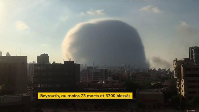 Liban : une grave explosion ravage Beyrouth