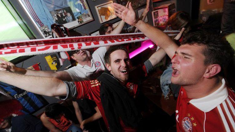 La joie des supporters bavarois (TOBIAS HASE / DPA)