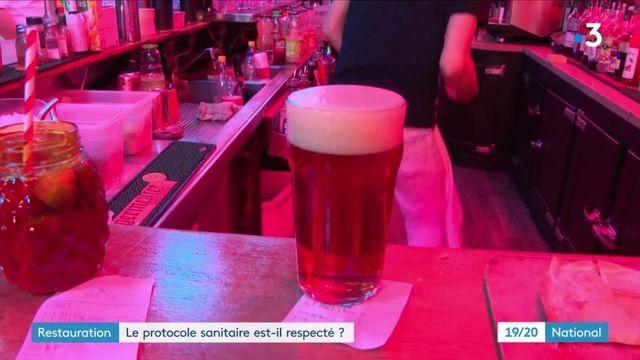 Protocole sanitaire : un relâchement dans les bars et restaurants ?