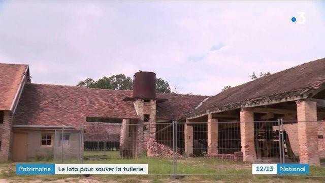 Seine-et-Marne : le Loto du patrimoine au secours de l'ancienne tuilerie de Bezanleu