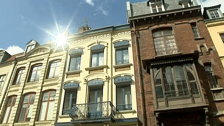 """Le Rue d'Angleterre du Vieux-Lille a servi de décor naturel au premier livre de Michel L'Oustalot """"Le Roi de la rue d'Angleterre""""  (France 3 / Culturebox)"""
