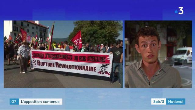 Biarritz : l'opposition au G7 contenue