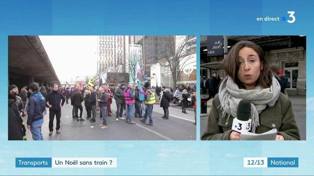 Grève des transports : les trains circuleront-ils à Noël ?
