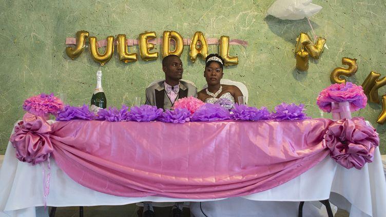 """Exposition """"Bonne vie à deux. Haïti, pour le meilleur ou pour le pire"""" deValérie Baeriswylà Visa pour l'Image de Perpignan (VALERIE BAERISWYL)"""