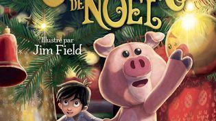 """Couverture de""""Jack et la grande aventure du Cochon de Noël"""", de J.K. Rowlings, octobre 2021 (GALLIMARD JEUNESSE)"""