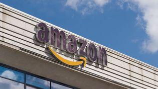 Un entrepôt d'Amazone à Arzano en Italie, le 22 mars 2021. (ELIANO IMPERATO / CONTROLUCE VIA AFP)