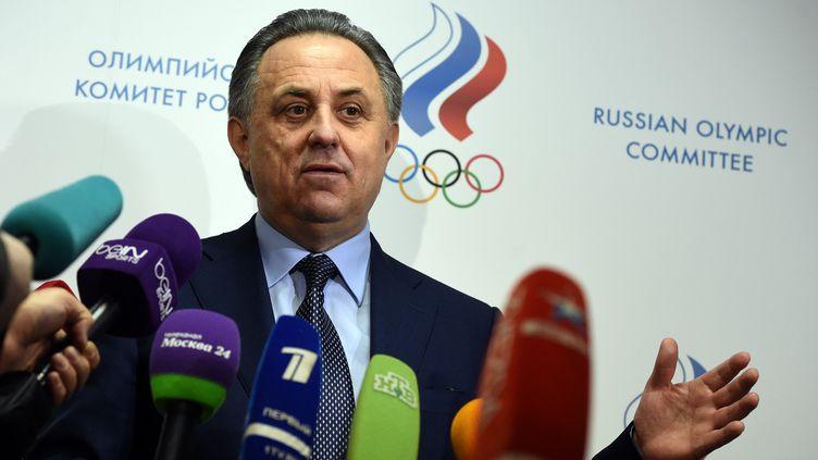 Le ministre des sports et président de la Fédération russe de football, Vitali Moutko (VASILY MAXIMOV / AFP)