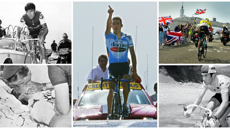 Poulidor, Simpson, Virenque, Froome, Merckx, cinq moments de l'histoire du Ventoux