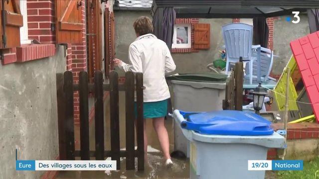 Eure : des villages sous les eaux