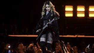 Madonna en concert à l'AmericanAirlines Arena à Miami, le 23 janvier 2016 (RON ELKMAN / USA TODAY NETWORK / SIP / SIPA /)