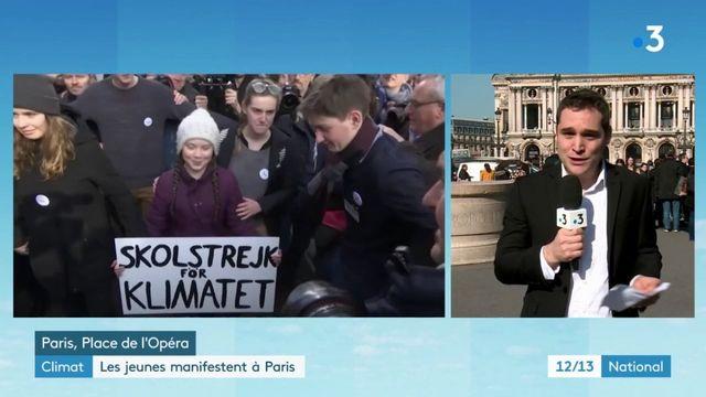 Climat : les jeunes mobilisés pour leur deuxième vendredi à Paris